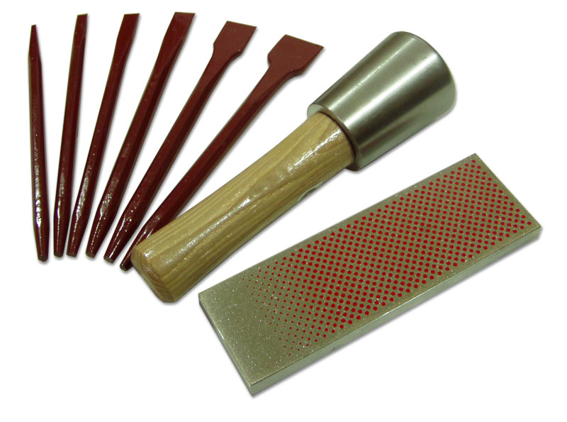carbide tipped letter cutting kit for marble soft stone With stone lettering tools