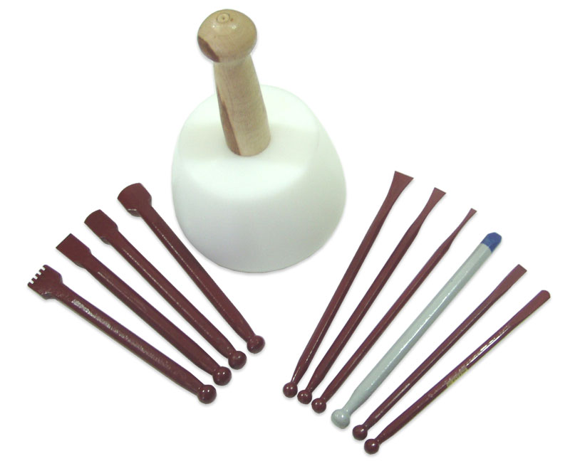 Carbide tipped sculptuors stone carving kit for marble